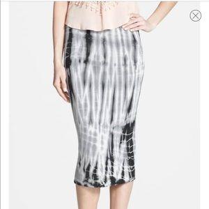 Leith Tie-Dye Tube Skirt